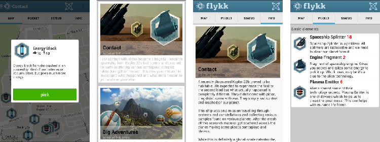 flykk - platform for location-based tours and adventures