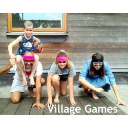 Spelcode 1-4 team Village Games